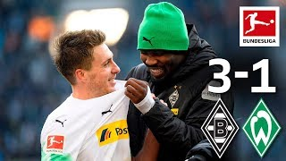 Thuram's Signature Celebration for Match-Winner Herrmann - All Goals From League Leaders M'gladbach