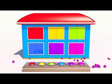 #13 | Развивающие мультики | Учим фигуры | Учим цифры | Учим цвета | Пинги и Кроки