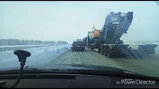 Трасса Одесса-Киев. 21.01.2018. Где-то под Уманью