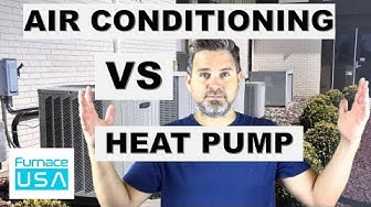 Air Conditioner vs Heat Pump  -  What's the difference and how to choose