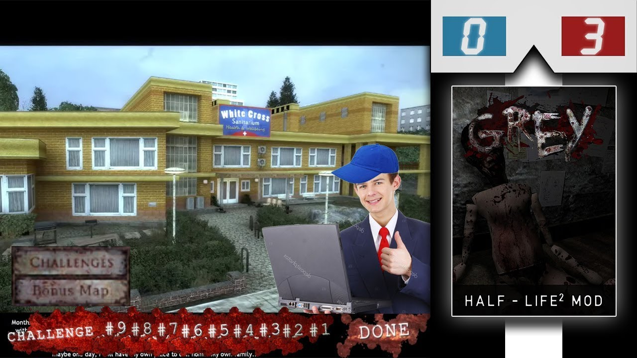 Half-Life 2 Mod: Grey - Part Finale (Stream)