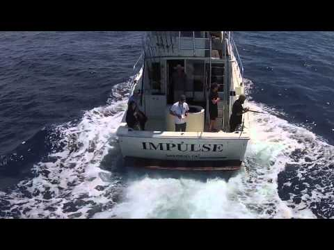 Wide Open Tuna Fishing on the Impulse - DJI Phantom 2+ Drone Footage