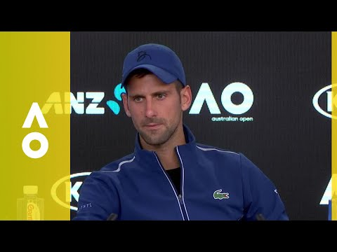 Novak Djokovic press conference (4R) | Australian Open 2018