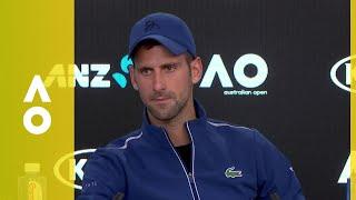 Novak Djokovic press conference (4R) | Australian Open 2018