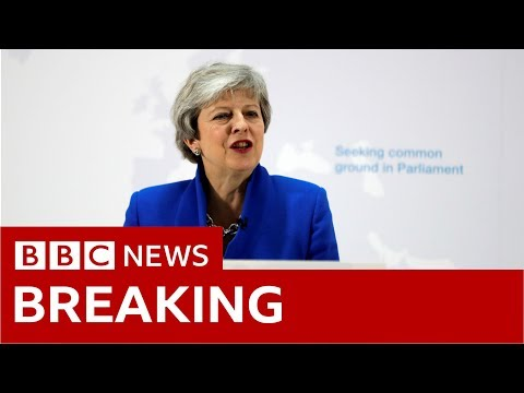 Theresa May: 'One last chance' to get Brexit done- BBC News