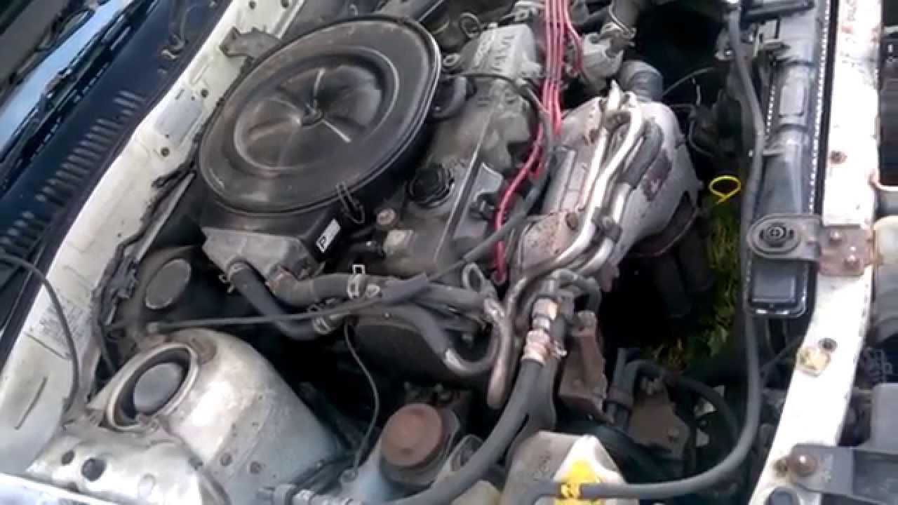 Mazda Fe 2 0l 12v Engine Cold Start On Our Gv 1990 Model
