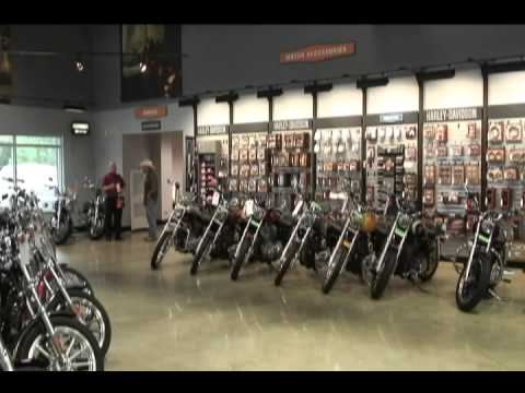 Heart of Dixie Harley-Davidson Dealer Showroom Floor - YouTube
