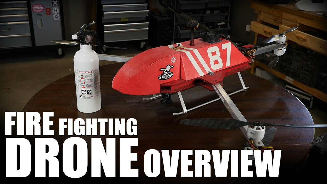 Fire Fighting Drone Overview | Flite Test