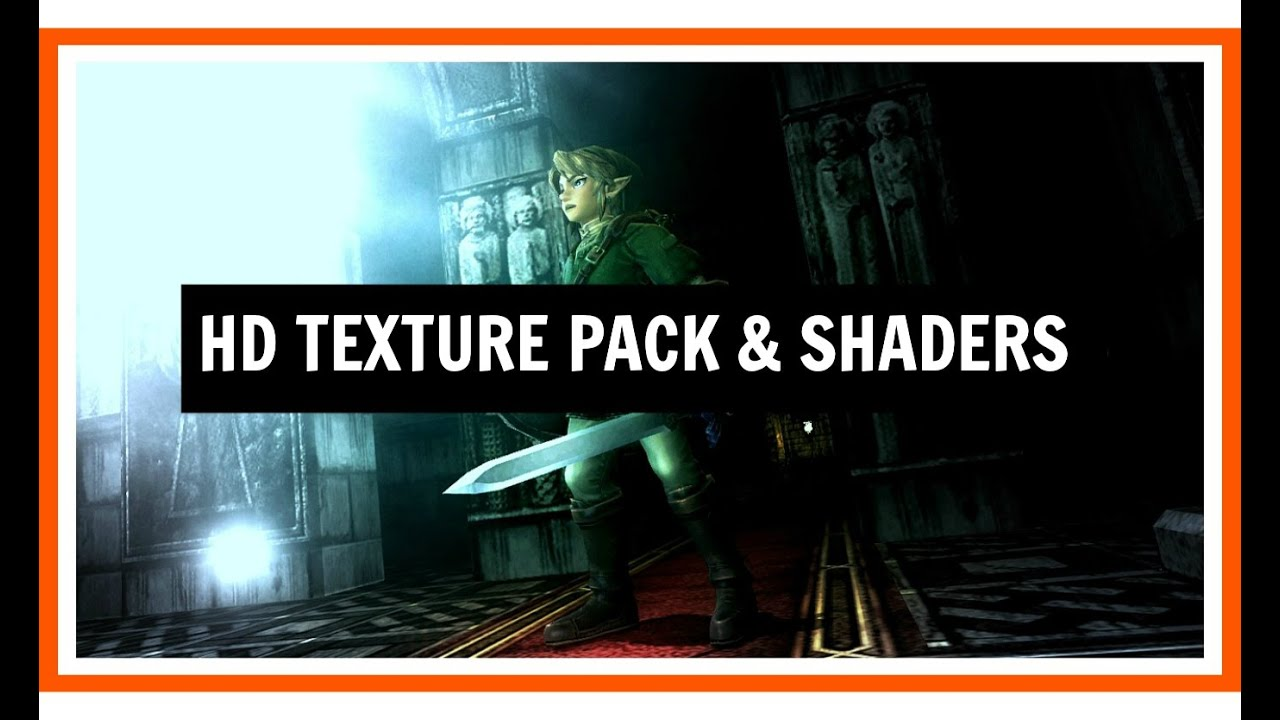 The Legend of Zelda: Twilight Princess HD Texture Pack And Shaders Gameplay  by VibenMods