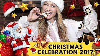 Christmas Celebration | Celebrities Celebrate the Holidays 2017
