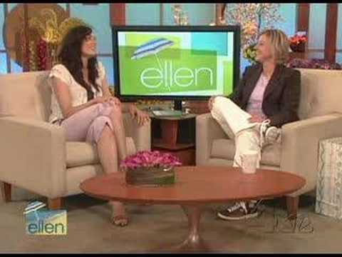 Famke Janssen on Ellen