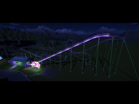 "(Joker) Vekoma ""Scary"" Coaster"