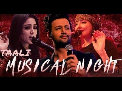 Heart Touching Atif Aslam, Gul Panra Sanam Jung,  And Aima Baig  Live Performance