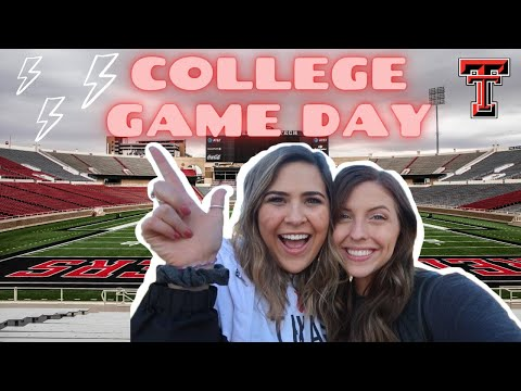 College Game Day At Texas Tech University | Our TTU View | Texas Tech Transition And Engagement