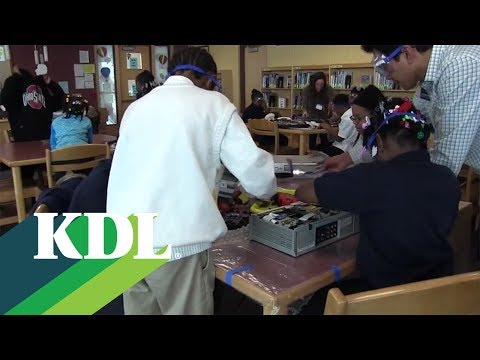 KDL Outreach at Martin Luther King Leadership Academy