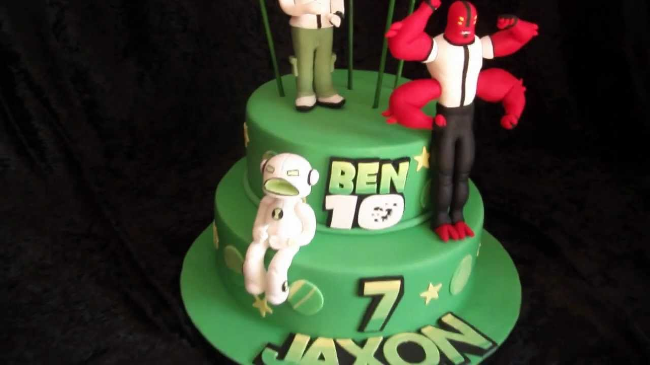 Ben  Birthday Cake That Has A  On It