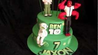 Video Ben Ten Cake, with Ecco Ecco, Four Arms, and Ben Ten download MP3, 3GP, MP4, WEBM, AVI, FLV Mei 2018