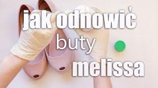 MELISSA: Jak usunąć zniszczony flock | How to remove flock from Melissa shoes