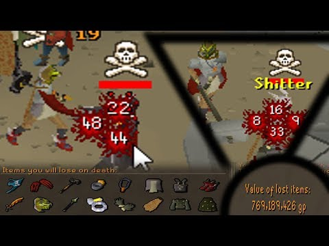 Distracting Pkers by Risking over 200m then 1 Hitting Them! (Defence won't SAVE you) - OSRS