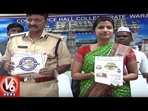Sarva Shiksha Abhiyan Officials Release Dropouts Report For Academic Year 2016-17 | Warangal | V6