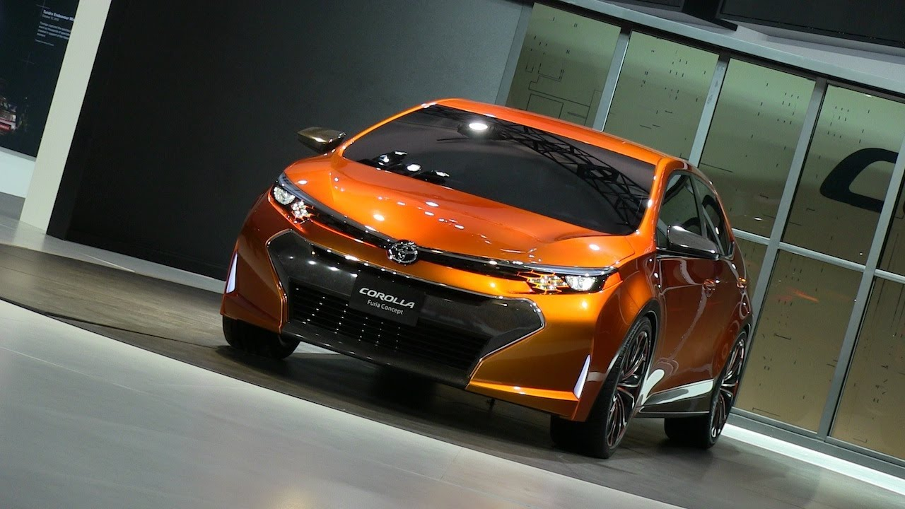 Corolla S 2017 >> Watch the Toyota Corolla Furia Concept Debut at the ...