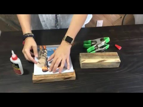 Learn How To Make Picture Frames From Reclaimed Wood Youtube