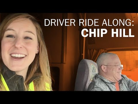 Driver Ride Along With Dedicated DriverChip Hill