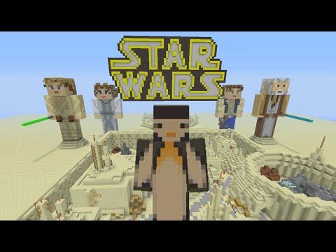 Minecraft Xbox - Hide and Seek: Star Wars Tatooine