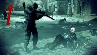 Sniper Elite: Nazi Zombie Army Walkthrough - Part 1 (Sniper Elite)
