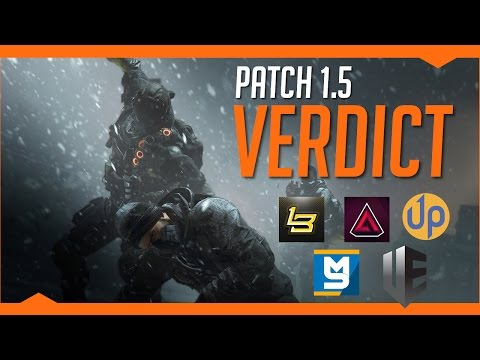 The Division | Patch 1.5 Verdict Discussion Feat. MarcoStyle, Arekkz, LikeButter, UEG & Skill Up!