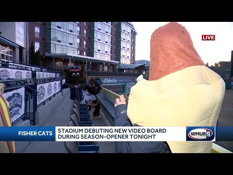 Fisher Cats Ready For Opening Day
