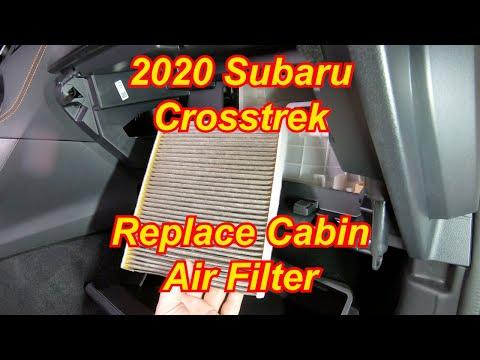 How To: 2020 Subaru Crosstrek – Replace Cabin Air Filter