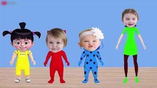 الابواب والمفاتيح الملونة - Funny Kids