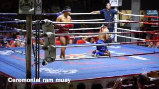 Thailand Muay Thai Vlog #3 - Patong Boxing Stadium Fights - March 13th, 2014