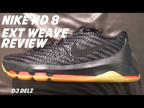 super popular 1a45e 203b2 Nike KD 8 EXT Weave Shoe Review
