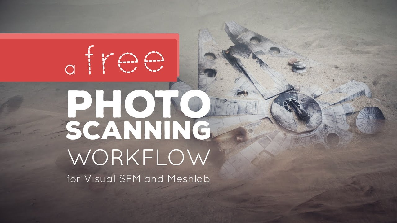Free Photo Scanning Workflow! (VisualSFM and Meshlab)