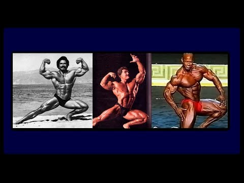 Greatest Posers In Bodybuilding History
