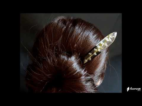 How to use hair sticks?