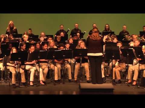 Ruth Cherry Intermediate School Christmas Band Concert 12-10-15 Royse City Texas