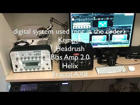 Blind Test: Line 6 Helix, Kemper, Fractal AX8, Bias Amp 2.0, Headrush