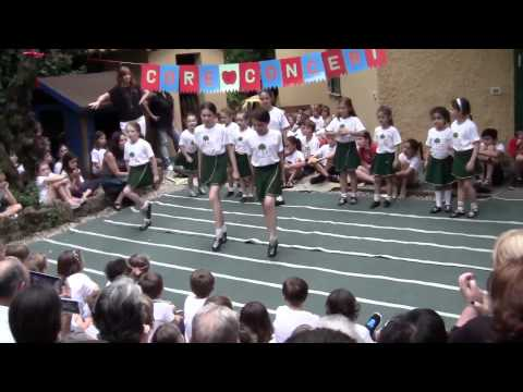 Irish dancing performance Core International School, Rome june 12, 2015
