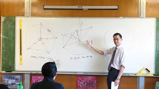 Congruent Triangles in Circles (2 of 2: Chord bisector)