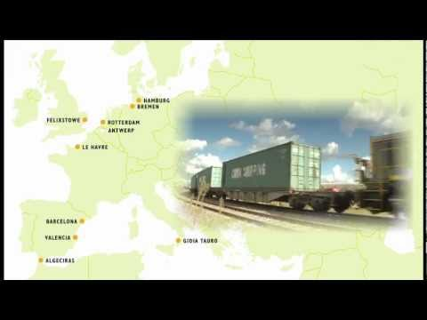 TTR172 Railfreight Holland 3 Rotterdam Port and the New Portline