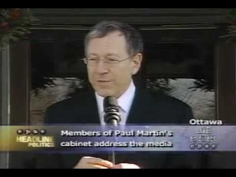 Newshawks - Canada's New Justice Minister, Irwin Cotler, On Marijuana.