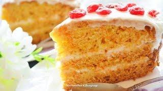Торты рецепты. Морковный торт. Пошаговый рецепт с фото.