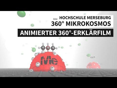360° Mikrokosmos - Adsorption, Desorption, heterogene Katalyse