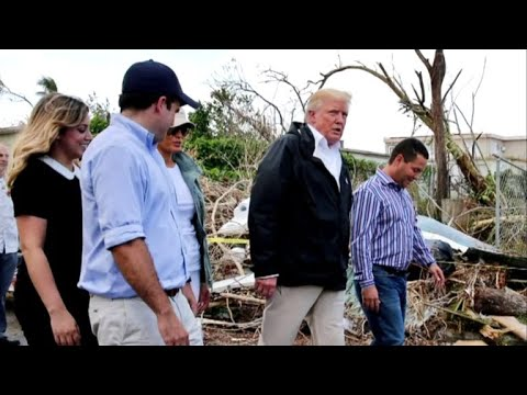 Trump praises recovery efforts during Puerto Rico visit