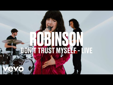 Robinson - Don't Trust Myself (Live) | Vevo DSCVR ARTISTS TO WATCH 2019