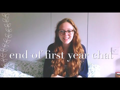 end of first year chat (Physics with Physical Geography at Keele University)