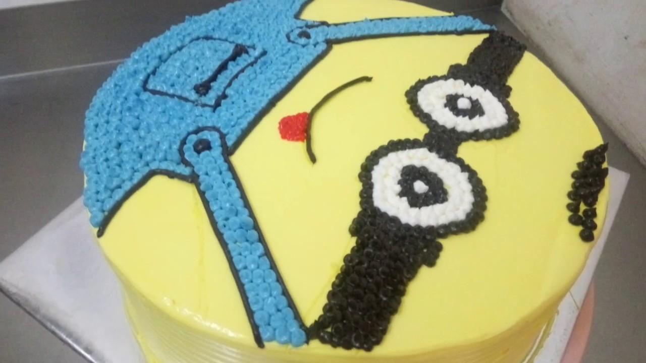 Minion Cake Butter Cream